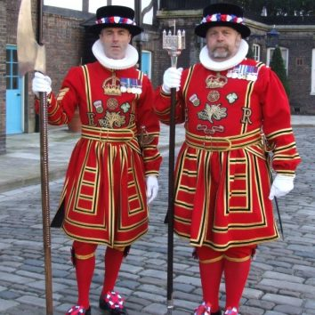 Beefeaters at Tower of London