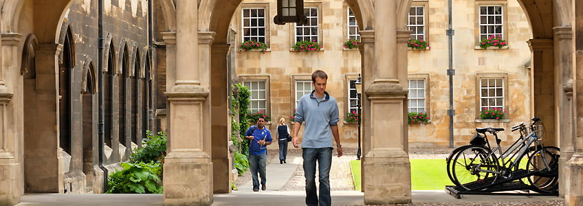 Cambridge College Courtyard