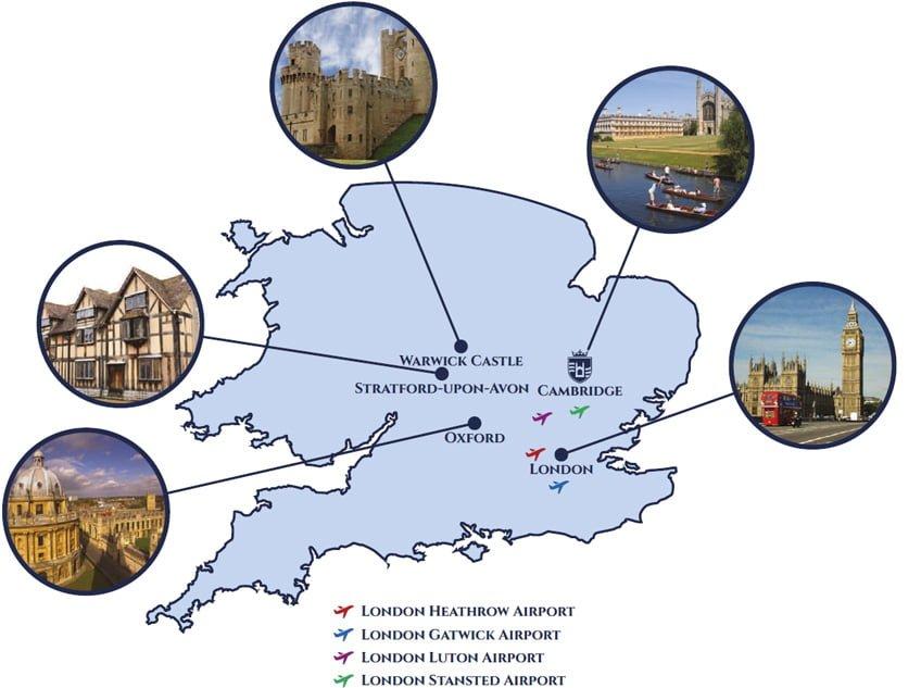 Cambridge Dream Map