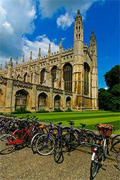 Kings College and Bikes