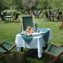 Orchard Tea Gardens at Grantchester